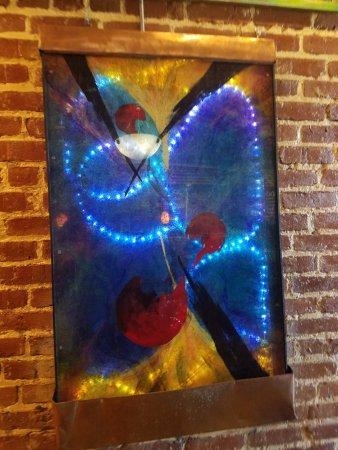 Belmont House of Smoke: displayed art work