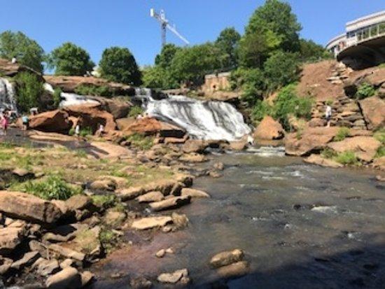 Falls Park on the Reedy : Reedy Falls
