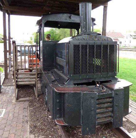 Rochelle, IL: The smaller of two Whitcomb Engines at the park.
