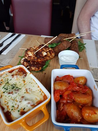 Jackfield, UK: Kofte, Meatballs and Potatoes