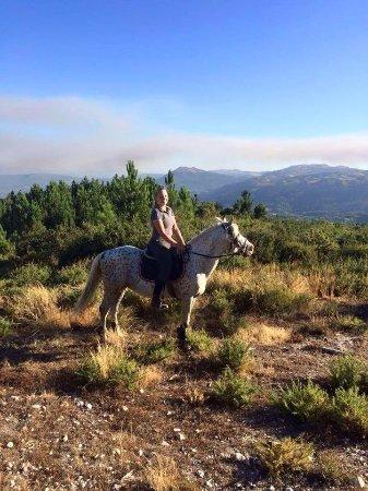 Cabeceiras de Basto, Portugal: uitzicht te paard