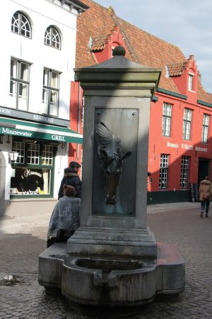 Horse Head Drinking Fountain