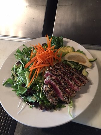 Sandpoint, ID: Seared Ahi  Clean Eating Special.