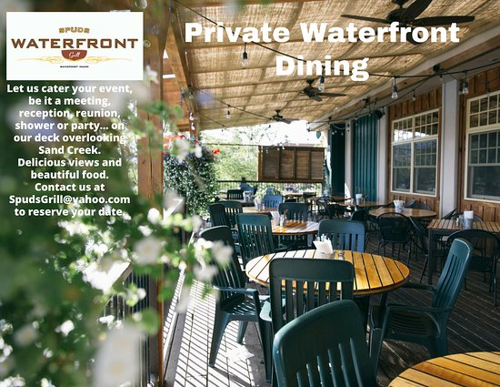 Sandpoint, ID: Private Waterfront Dining Available