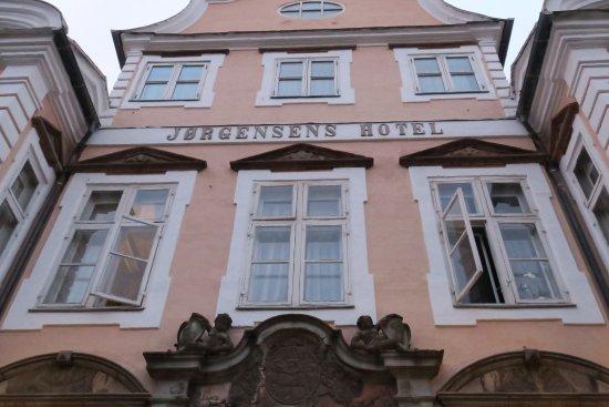 Best Western Jørgensens Hotel: Indgangen til Jørgensens Hotel