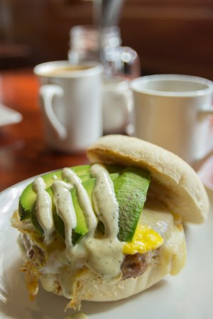 Sandpoint, ID: Sunset Magazine loves our breakfast sandwiches.