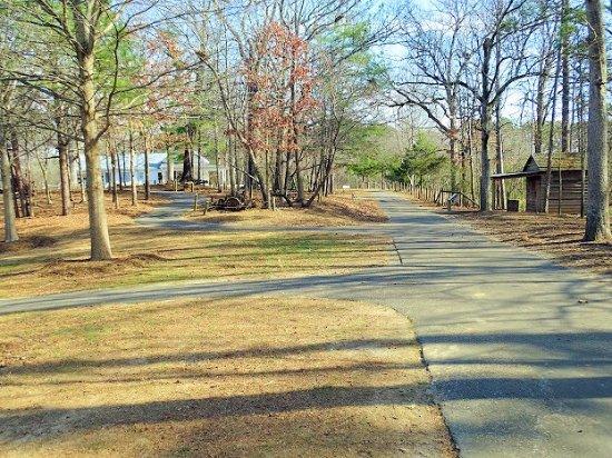 Duluth, GA: trails through farm