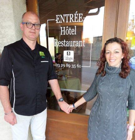 Hôtel Restaurant des Côtes de Meuse : les gerants
