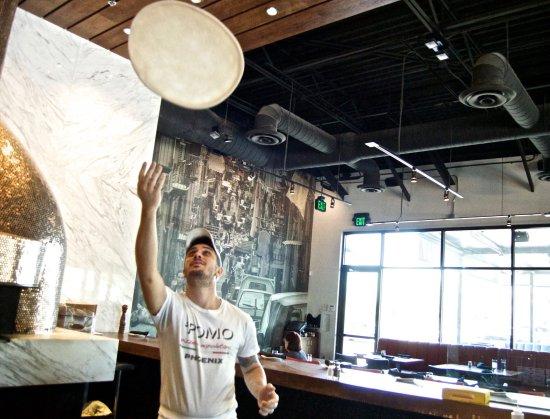 Pomo Pizzeria Phoenix: Pizzaiolo