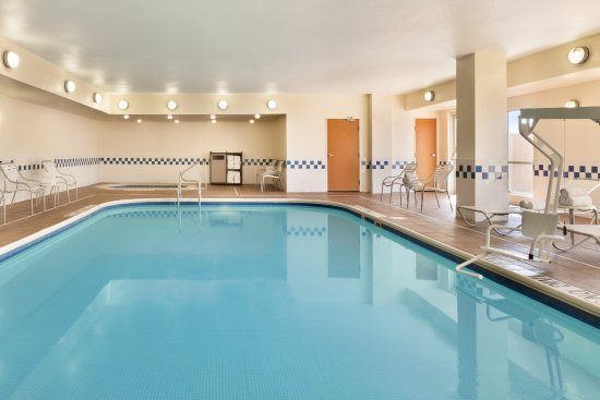 Indoor Pool at Fairfield Inn & Suites Mesquite