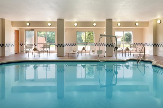 Indoor Pool at Fairfield Inn & Suites Mesquite