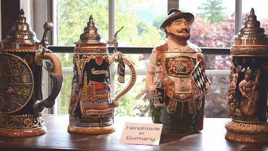 Black Mountain, NC: Limited edition steins made in Germany