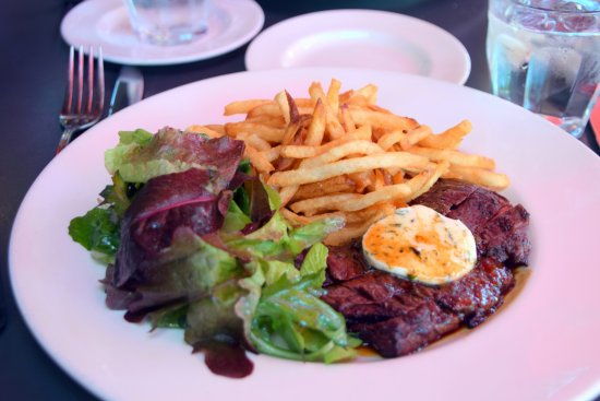 steak fries plate picture of marche eugene tripadvisor. Black Bedroom Furniture Sets. Home Design Ideas