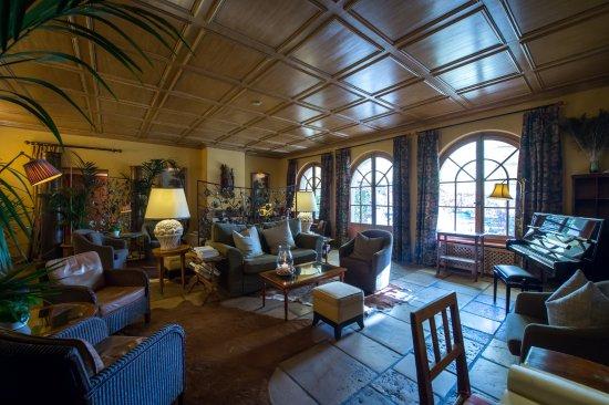 Auberge Du Raisin : Notre lounge