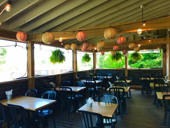 Out outdoor dining area - Picture of Secret Sandwich Society