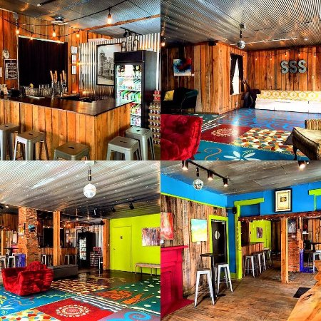 The Grove, our upstairs taproom, art and live music space