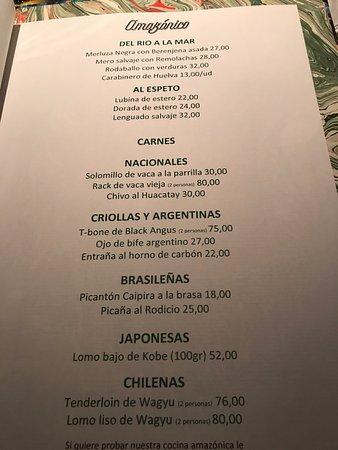 amazónico precio