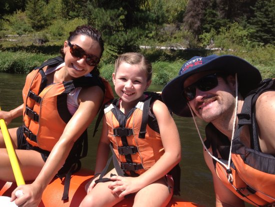 Cascade, ID: Whitewater Rafting is for the entire family.  They offer Family friendly or Wild rides.
