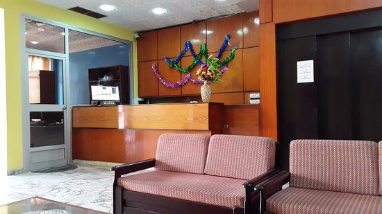 Hotel Tej : La reception