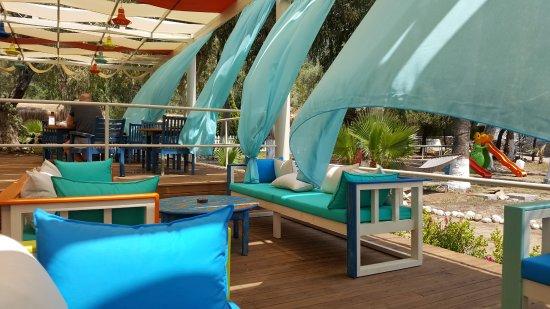 The Sugar Beach Club: seating area