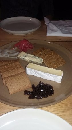 2 pieces of cheese £10 - picture of nettle & rye - restaurant