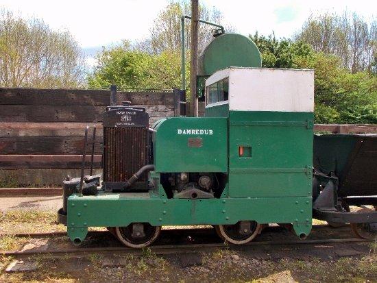 Leighton Buzzard, UK: One of many MotorRail Simplex locos.