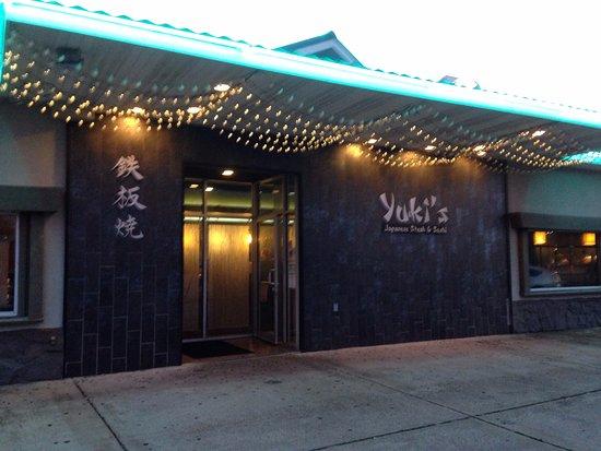 Yuki's Japanese Restaurant: Front of Yuki's Restaurant