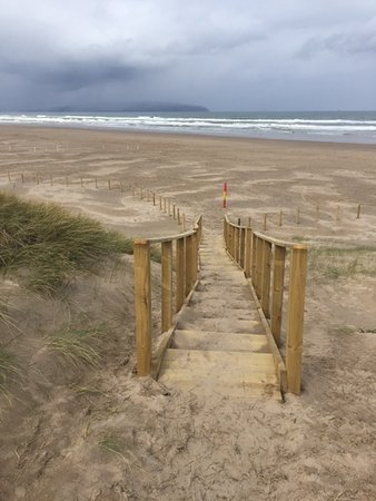 Stairs to Castlerock beach