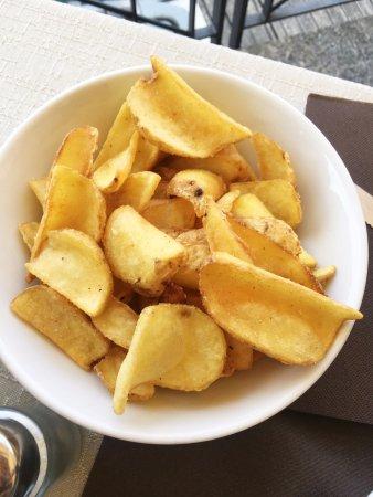 Lenno, Italy: patatine fritte croccante