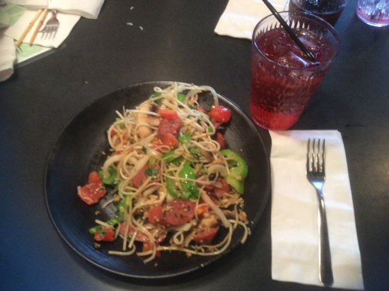 Huhot Mongolian Grill: My plate
