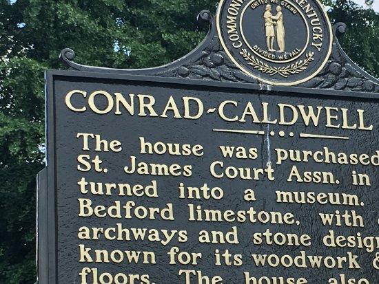 Conrad-Caldwell House Museum (Conrad's Castle): Conrad-Caldwell house