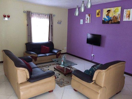 Orchid Villas Mauritius: Sala de estar e jantar