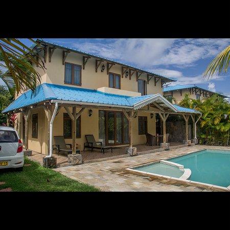 Orchid Villas Mauritius: Fachada da casa