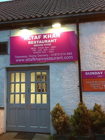 Tranent, UK: Altaf Khan Restaurant