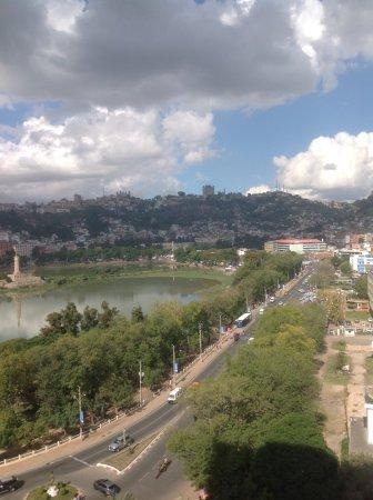 Hotel Carlton Antananarivo Madagascar: Lake view