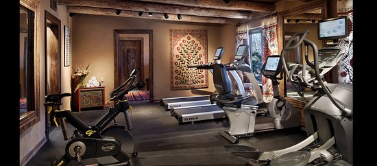 Inn of the Five Graces: Five Graces Fitness Center - Cardio Room