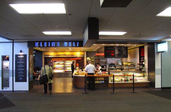 South San Francisco, CA: Klein's Deli - SFO T3 West Pier by Gate 83