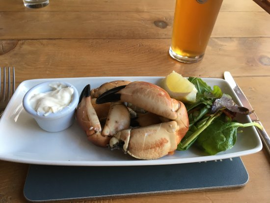 The Torridon Inn : Real big fresh crab claws!