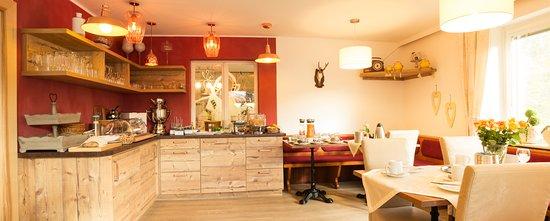 Afritz, Austria: Our breakfast room