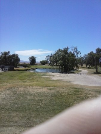 Willcox, AZ: Par 3 water hole