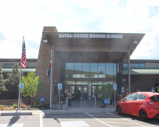 Royal Gorge Bridge and Park: Visitor's Center (entrance to the park)