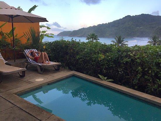 Pagua Bay House Oceanfront Cabanas-bild