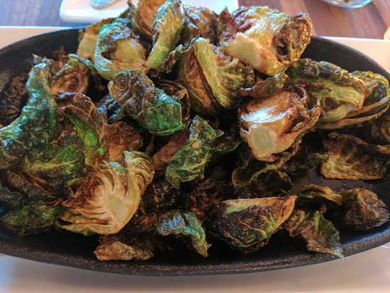 Avon, CT: crispy brussel sprouts