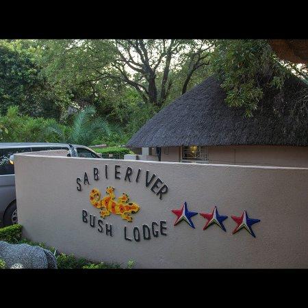 Sabie River Bush Lodge : Portaria do lodge