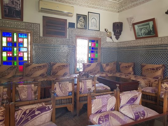 Le Kasbah Restaurant: Inside view - first level