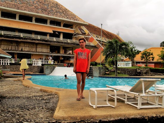Leyte Park Resort Hotel: Rear recreation area of the Resort.
