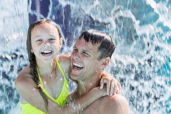 The Beach Waterpark: Family fun!