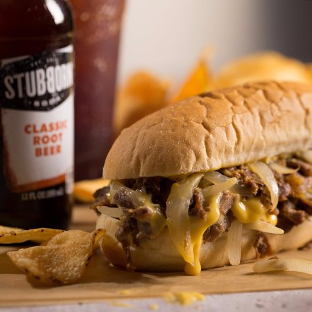 Firebaugh, Kalifornia: Philly cheese Steak