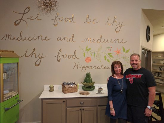 Edmond, OK: Proprietors Michele Menzel, Naturopathic Doctor, and her husband, Steven