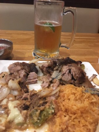 Hagerstown, MD: Carnitas, rice, beans and Modelo draft
